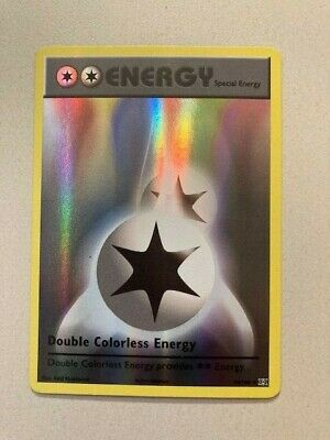 Pokemon XY Evolutions Double Colorless Energy 90/108 Reverse Holo NM-MINT