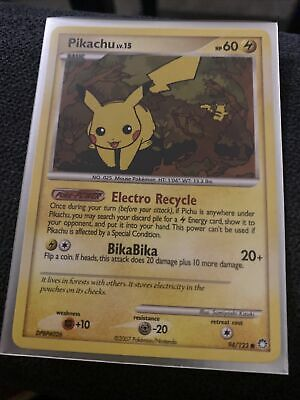 2007 Pokemon D&P Mysterious Treasures # 94 Pikachu MINT! Rare!