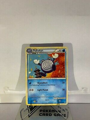 Pokemon TCG Poliwhirl 37/95 Uncommon HS Unleashed NM