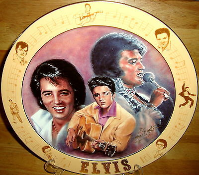 Elvis Remembered Elvis Presley  A Special Request Edition 12 1/4 Plate Retired