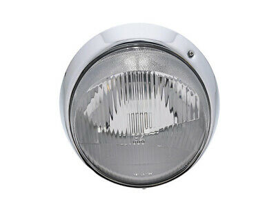 Headlight Assembly - Bosch H-4 (european With Chrome Rim) (without Bulbs)