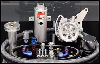 Sbc Chevy Gz Sportsman Complete Street/strip Vacuum Pump Kit # Sbc-svpbk102d