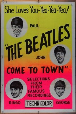beatles come town, the (1963) 15540