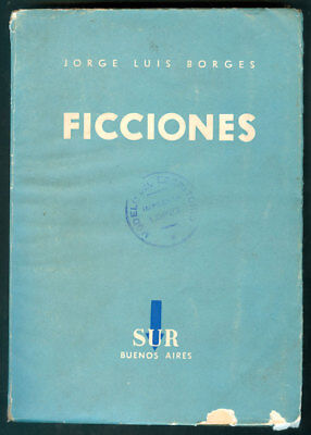 ,ficciones, Book By Jorge Luis Borges  First Edition 1944 Sur Publisher Rrr