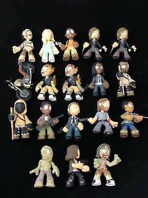 Funko Mystery Minis Walking Dead Series 4 - Complete Set Of 18 + 3 Hot Topic