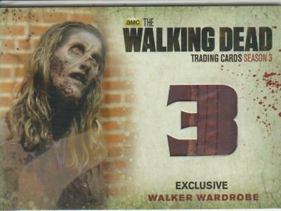 Walking Dead Season 3 Wardrobe Card M29-wg The Walgreens Exclusive Walker Card