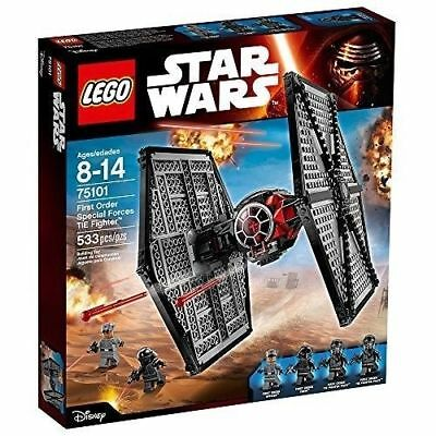 Lego Star Wars 75101 First Order Tie Fighter Brand New & Sealed Retired