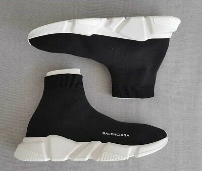 Balenciaga Speed Knit Black White Runners Size Eu 39, 40, 41, 42, 43, 44, 45, 46