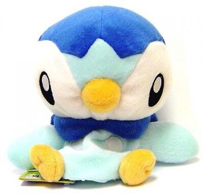 Pokemon Diamond & Pearl 5 Inch Puppets Piplup Plush Hand Puppet