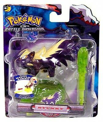 Pokemon Diamond & Pearl Battle Dimension Series 10 Stunky Action Figure