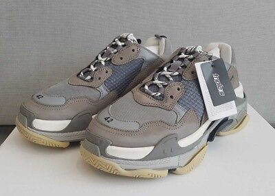 Balenciaga Triple S Grey Trainers Sneakers Eu 39, 40, 41, 42, 43, 44