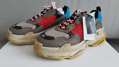 Balenciaga Triple S Grey Red Blue Lego Sneakers Eu 39, 40, 41, 42, 43, 44, 45