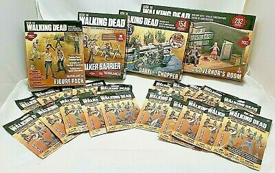 Walking Dead Big Lot Mcfarlane Minifigure Building Sets Walmart Exclusive Zombie