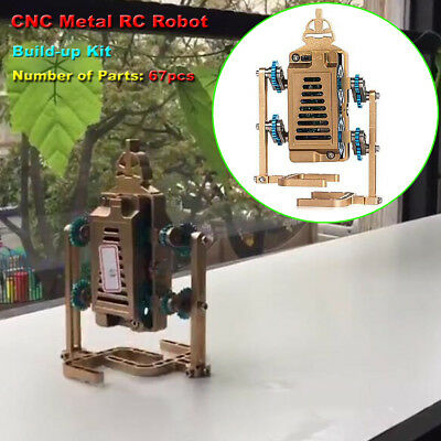 Assembly Rc Robot Model Toy Diy Build-up Walking Robot Engine Motor Toy Cnc Part