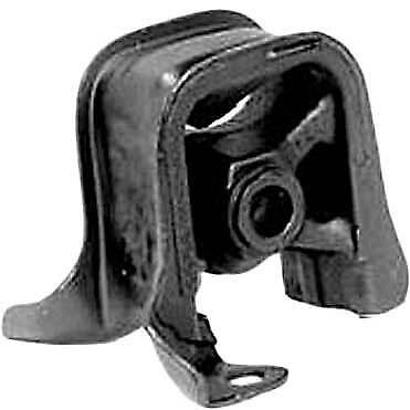 Dea A6528 Motor Mount - Black, Steel And Rubber, Direct Fit