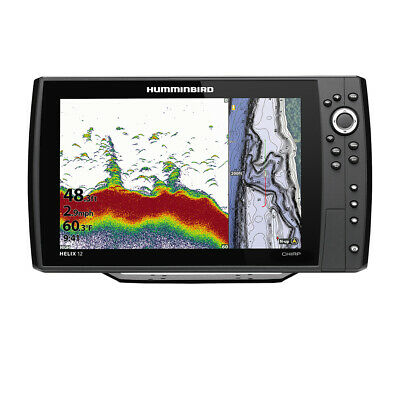 Expedited Delivery! Humminbird Helix® 12 Chirp Fishfinder/gps Combo G3n W/tr