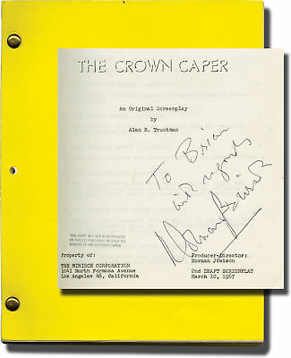 Norman Jewison Thomas Crown Affair The Crown Caper Original Signed #118801