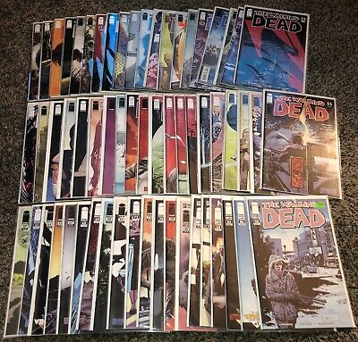 Walking Dead 1st Print Comic Lot Plus Extras