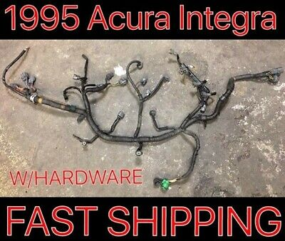 1995 Acura Integra Engine Wire Harness Obd1 Dohc M/t Oem Non Vtec 94 95 1994 Si