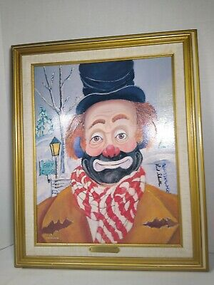 """""""winter Wonderland"""" Signed Lithograph By Red Skelton 1997 #1552/5000"""