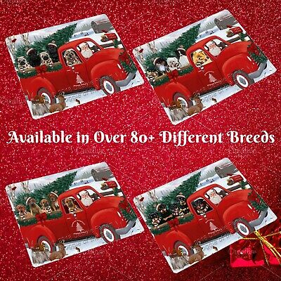 Christmas Santa Express Delivery Red Truck Blanket, Dogs, Cats, Pet Personalize