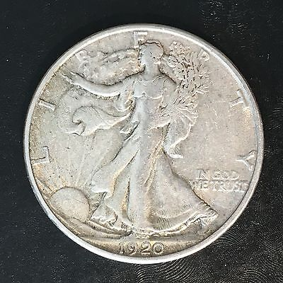 1920-s Walking Liberty Half - High Quality Scans #f113