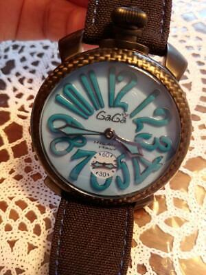 Gaga Milano Manuare Watch World Limited To 500 Pieces Second Hand 016/mo