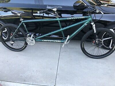 "Cannondale Tandem Mountain Bike 20""x18"" Shimano Xtr And Xt Very Nice Condition"