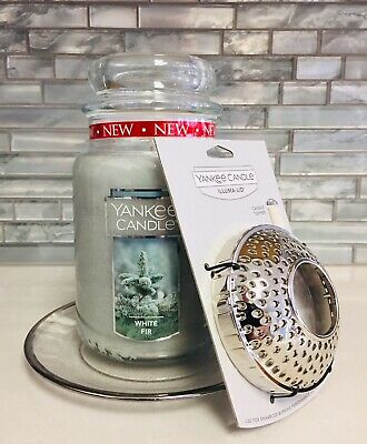 """New Yankee Candle Holiday Gift Set In """"white Fir"""" Scent !!"""