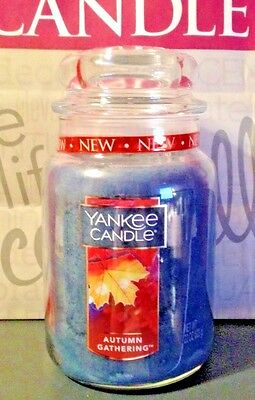 * Yankee Candle * Autumn Gathering *  22 Oz. ~ So Nice  For Fall