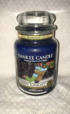 Yankee Candle Happy Tonight Vhtf  Large Jar 22 Oz Candle Brand New!