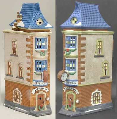Dept 56 Lot Of Buildings And City People.