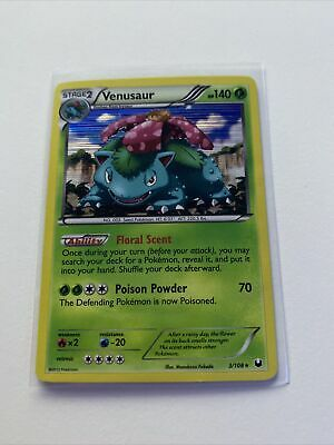 Pokemon Venusaur Dark Explorers Holo 3/108 LP Condition