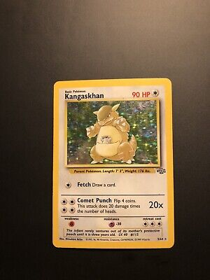 Pokemon Kangaskhan Jungle Holo Rare 5/64