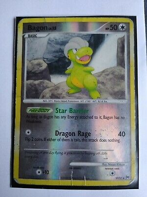 Pokemon Card SH10 Shiny Bagon Arceus set Reverse Holo Rare LP-MP Sleeved