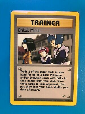 Pokemon Erika's Maids 109/132 Gym Heroes Unlimited NM