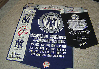 New York Yankees Dynasty - Heritage - Yankee Stadium Banner Collection