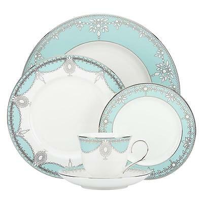 Lenox/marchesa Empire Pearl Turquoise  40pc Set, Service For 8