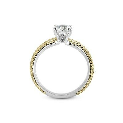 0.74ct Tw D-vs1 Vg-cut Round Agi Natural Diamonds 14k Vintage Engraved Ring 4.2g