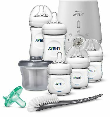 Philips Avent Natural 8-piece Wide Neck Stage 1 Premium Gift Set With Bottle