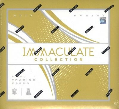 2017 Panini Immaculate Football Hobby Box Blowout Cards