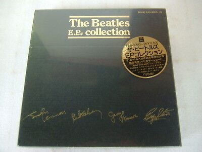 still sealed / the beatles e.p. collection red vinyl / mint