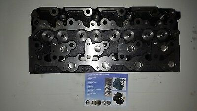 Kubota  V2403 Bare Cylinder Head Part # 1g896-03040 With Top End Gasket Set