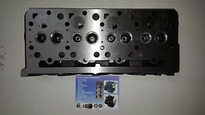 Mahindra 4510 Cylinder Head Indirect Injection With 10 Bolt Valve Cover
