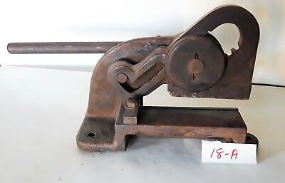 Vintage Yankee Bench Shear Number 2000 Patent Dec. 24. 18-june 8, 20