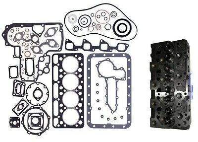 Complete Cylinder Head For Bobcat 743 Kubota V1702 C/w Full Gasket Set
