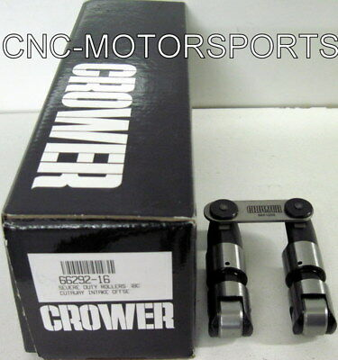 66292-16 Crower Severe-duty Cutaway Solid Roller Lifters Sb Chevy