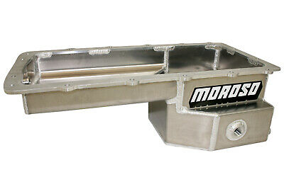 Oil Pan Ford 5.0l Coyote Drag Race Fabricated Alm Moroso 20574