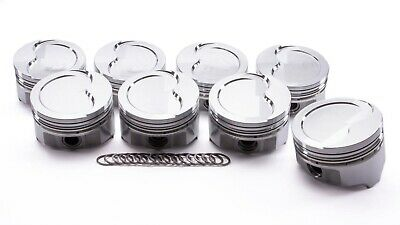 Olds 455 Forged D-cup Piston Set 4.156 -255cc Icon Pistons Ic887.030