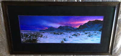 "Peter Lik ""glowing Sunset"" 1m Custom Framed Signed Limited Edition #"